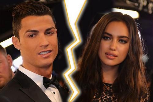 Cristiano Ronaldo and Irina Shayk split