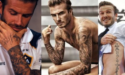 10 famous footballers and their remarkable tattoos