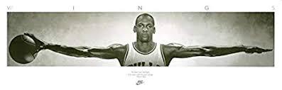 Poster di Michael Jordan, 182,5 cm x 58,5 cm Image