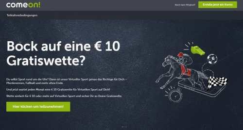 small resolution of comeon geh rt auf dem deutschen sportwetten markt zu den etablierten buchmachern gegr ndet im jahr 2010