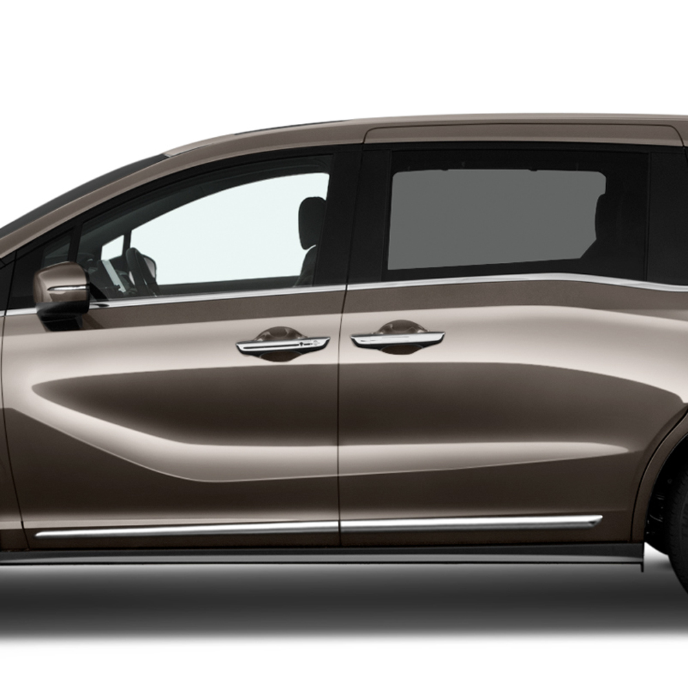 hight resolution of honda odyssey chrome body side molding 2018 2019 lcm odyssey18 261415 sportwing
