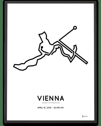 2016 Vienna City Marathon poster