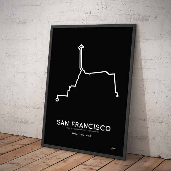 2016 San Fran half marathon