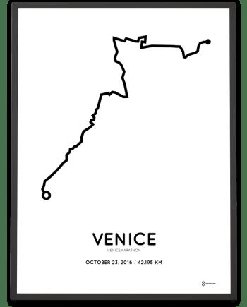 2016 venicemarathon course poster