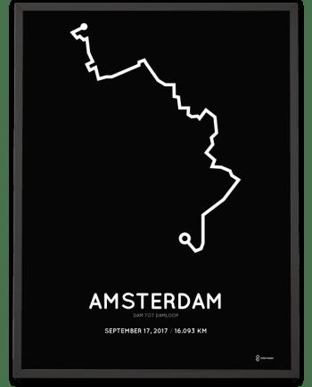 2017 dam tot damloop route poster