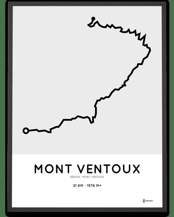 Mont Ventoux course poster
