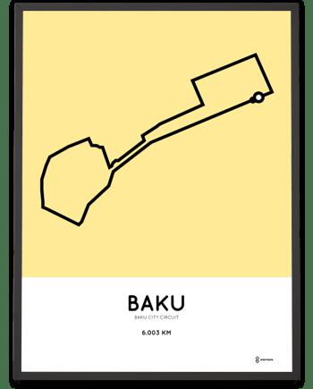 Baku City Circuit poster