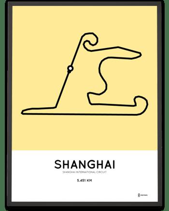 Shanghai International Circuit poster