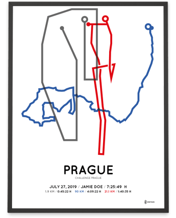 2019 Challenge Prague coursemap print