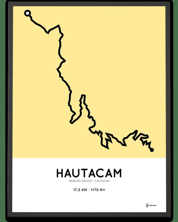 Hautacam climb poster from argeles-gazost