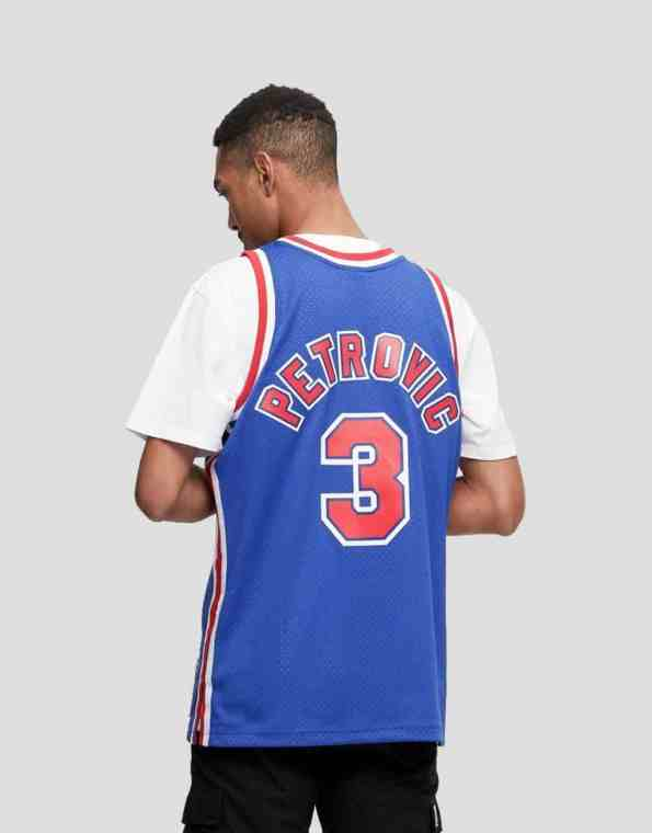 mitchell and ness petrovic back