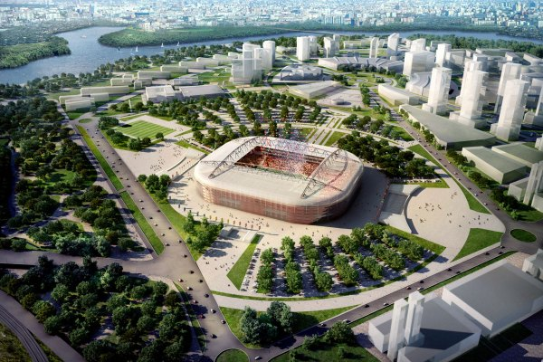 Spartak Stadium.