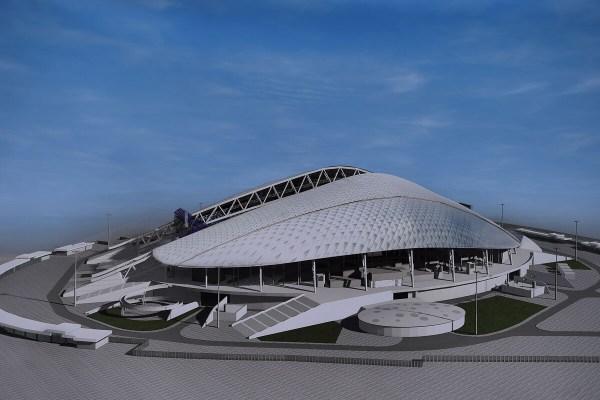 Fisht Stadium.