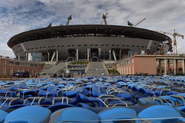 Krestovski Stadium.