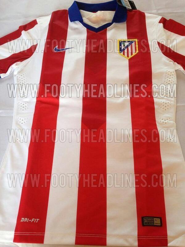 707a453e4fd14 Filtrada la camiseta del Atlético de Madrid para la temporada 2014 ...
