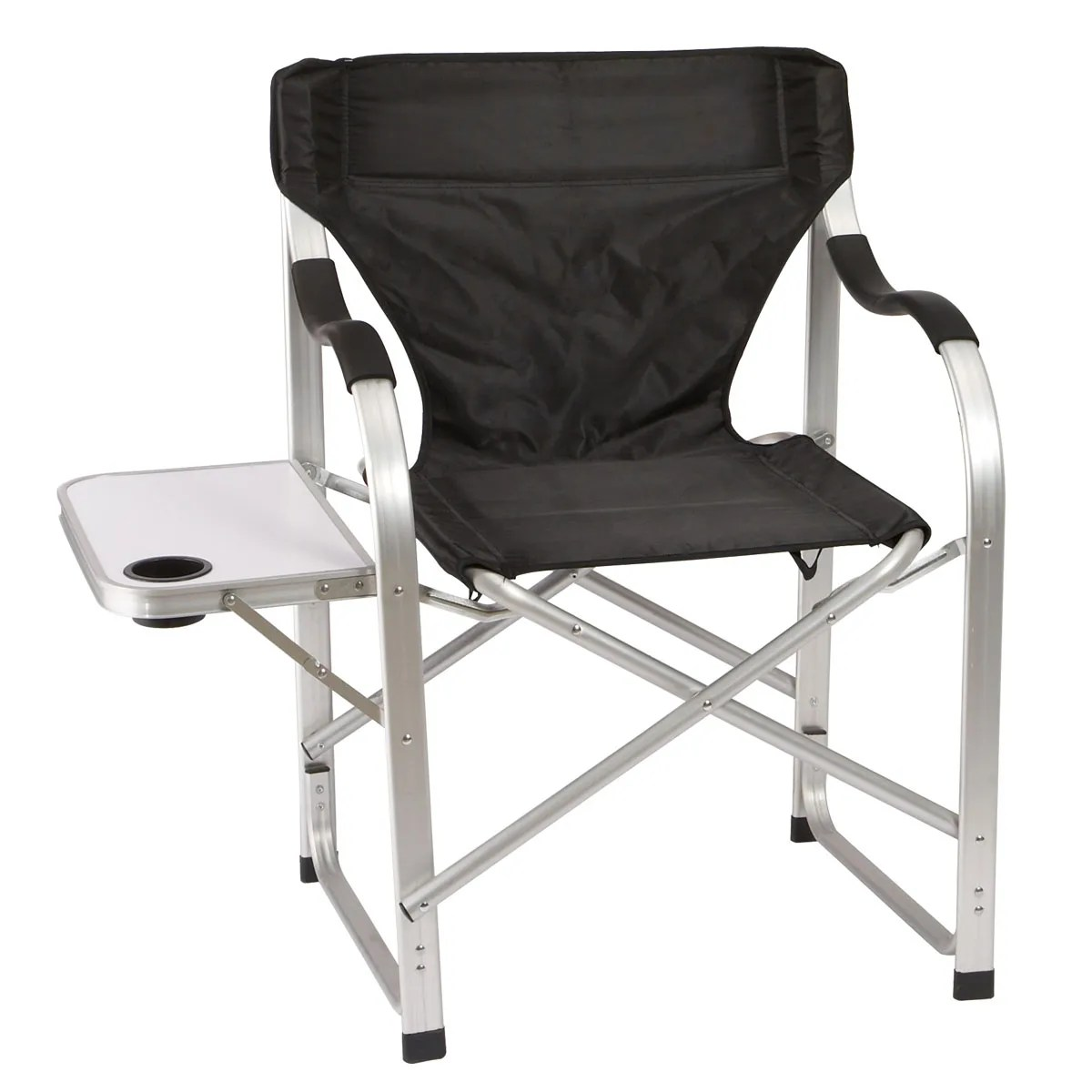 Heavy Duty Collapsible Lawn Chair Black  from Sportys