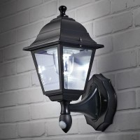 Wireless Motion-Activated Outdoor Wall Sconce - from ...
