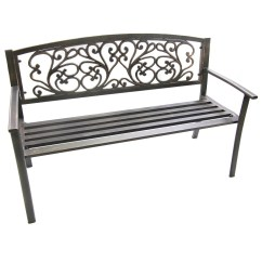 Jordan Manufacturing Outdoor Patio Wrought Iron Chair Cushion Leather Swivel John Lewis Cast Scroll Bench Furniture Exterior