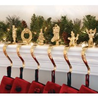 Brass Stocking Holders with Design - from Sporty's Tool Shop