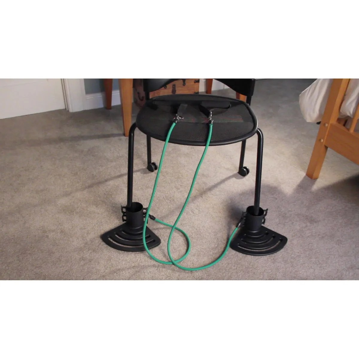 resistance chair exercise system reviews folding cost portable from sportys preferred living