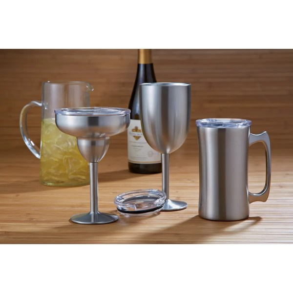 Double Wall Wine Glass - Sportys Preferred Living
