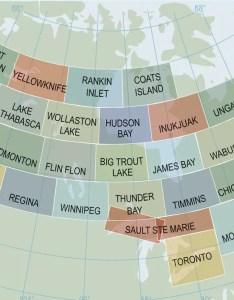 View large coverage map also canadian vfr navigation charts from sporty   pilot shop rh sportys