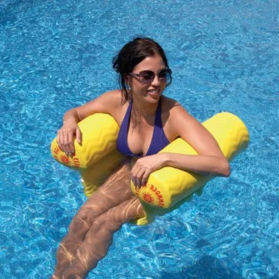 floating pool chair red high water hammock float - from sportys preferred living