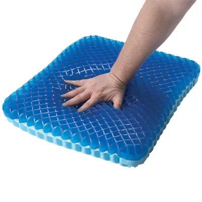 how much fabric to cover a chair cushion hire portsmouth gel-filled | personal health - from sportys preferred living