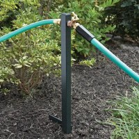 Garden Hose Faucet Free Standing Hose Hanger With Faucet ...
