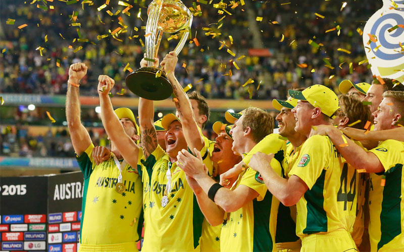 Australia Win World Cup 2015