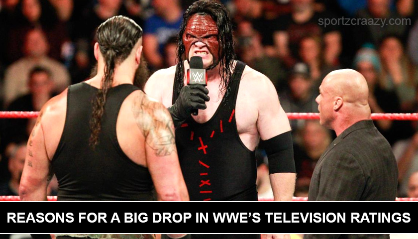 Reasons for a Big Drop in WWE's Television Ratings