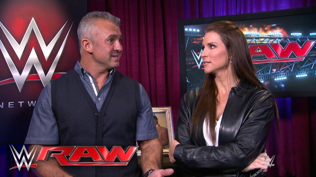 Shane McMahon and Stephanie McMahon