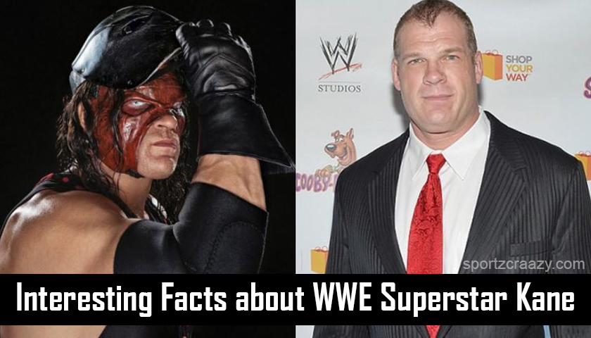 Interesting Facts about WWE Superstar Kane