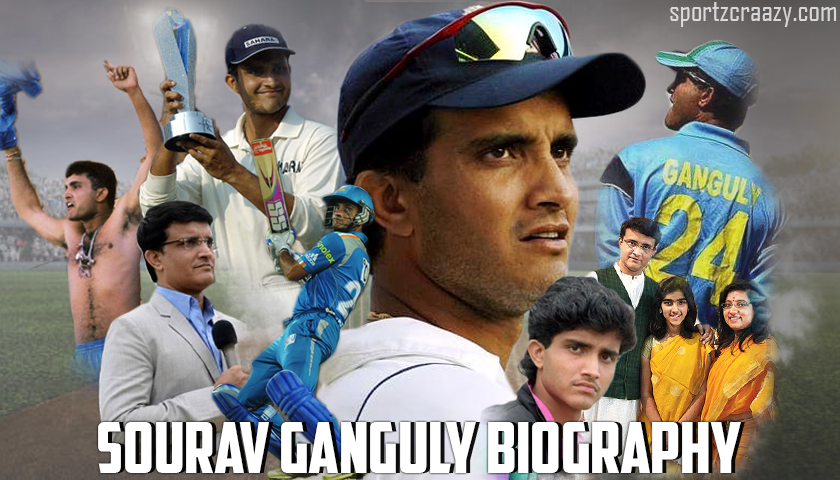 Sourav Ganguly Biography- Personal Life | Stats & Records | Net Worth