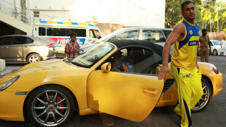 ms dhoni cars