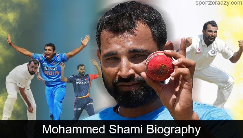 Mohammed Shami Biography