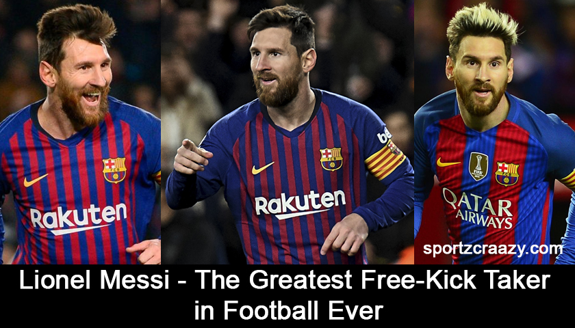 Lionel Messi - The Greatest Free-Kick Taker
