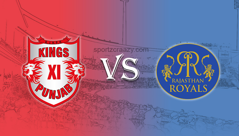 kings xi punjab vs rajasthan royals sportzcraazy