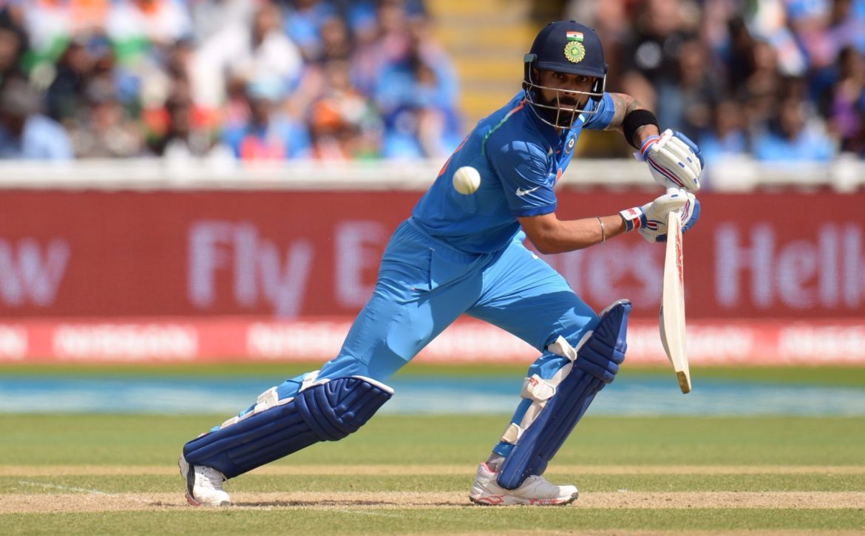 Virat Kohli patient batting