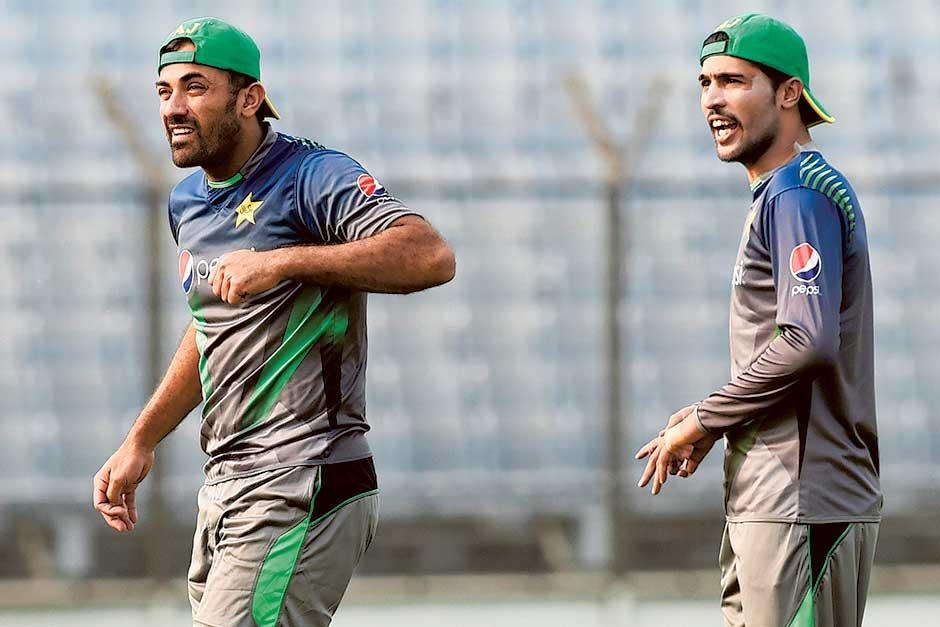 Wahab Riaz and Mohammad Amir