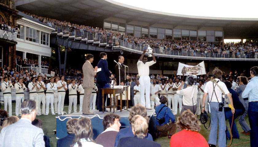 The final: Australia vs West Indies (21 June 1975)