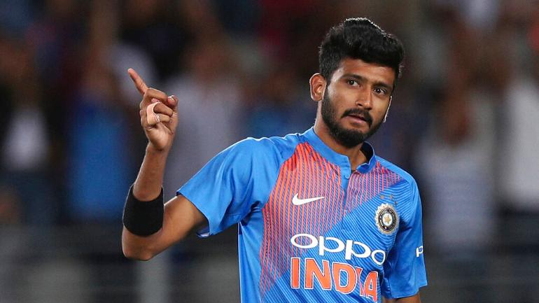Indian Pacers  khaleel ahmed