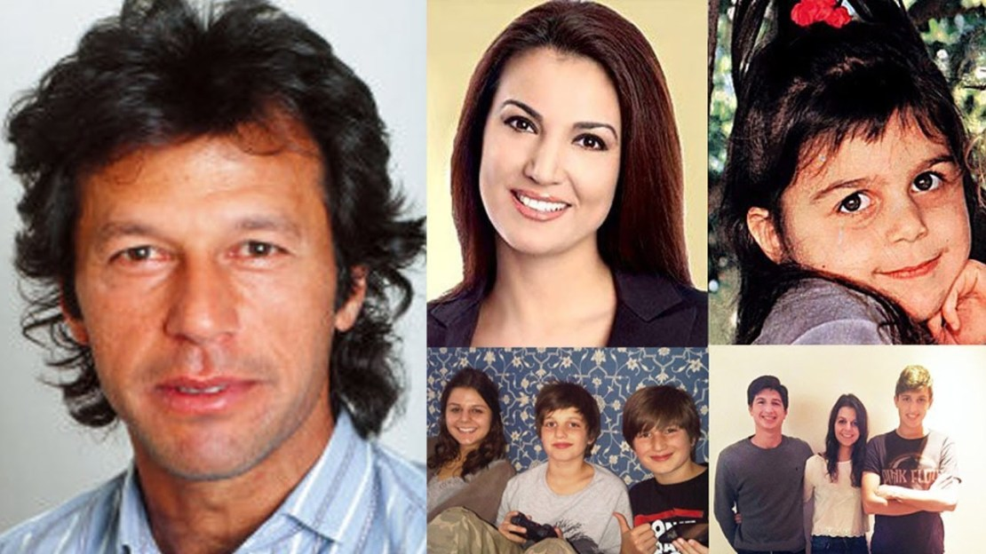 Imran Khan family