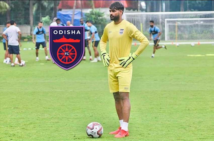 Goalkeeper Ravi Kumar latest addition in Odisha FC signing spree