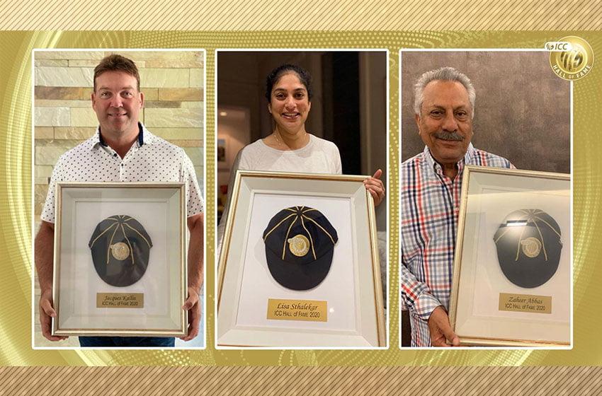 Zaheer, Kallis, Lisa inducted in ICC Cricket Hall of Fame