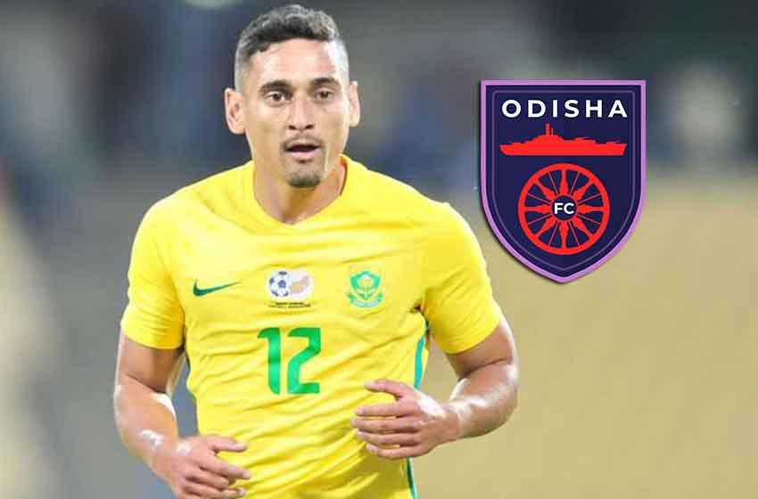 Odisha FC sings South African international Cole Alexander