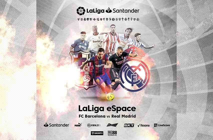 LaLiga eSpace app available in Bengali, English on landing page