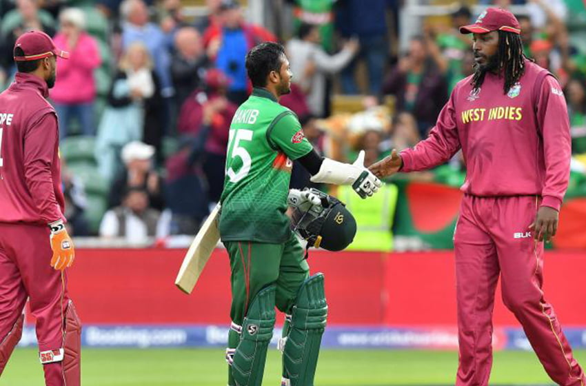 West Indies to visit Bangladesh for three ODIs and two tests