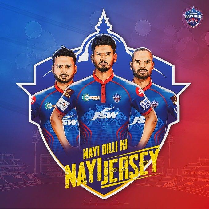 IPL 2021: Delhi Capitals unveil new jersey for upcoming season