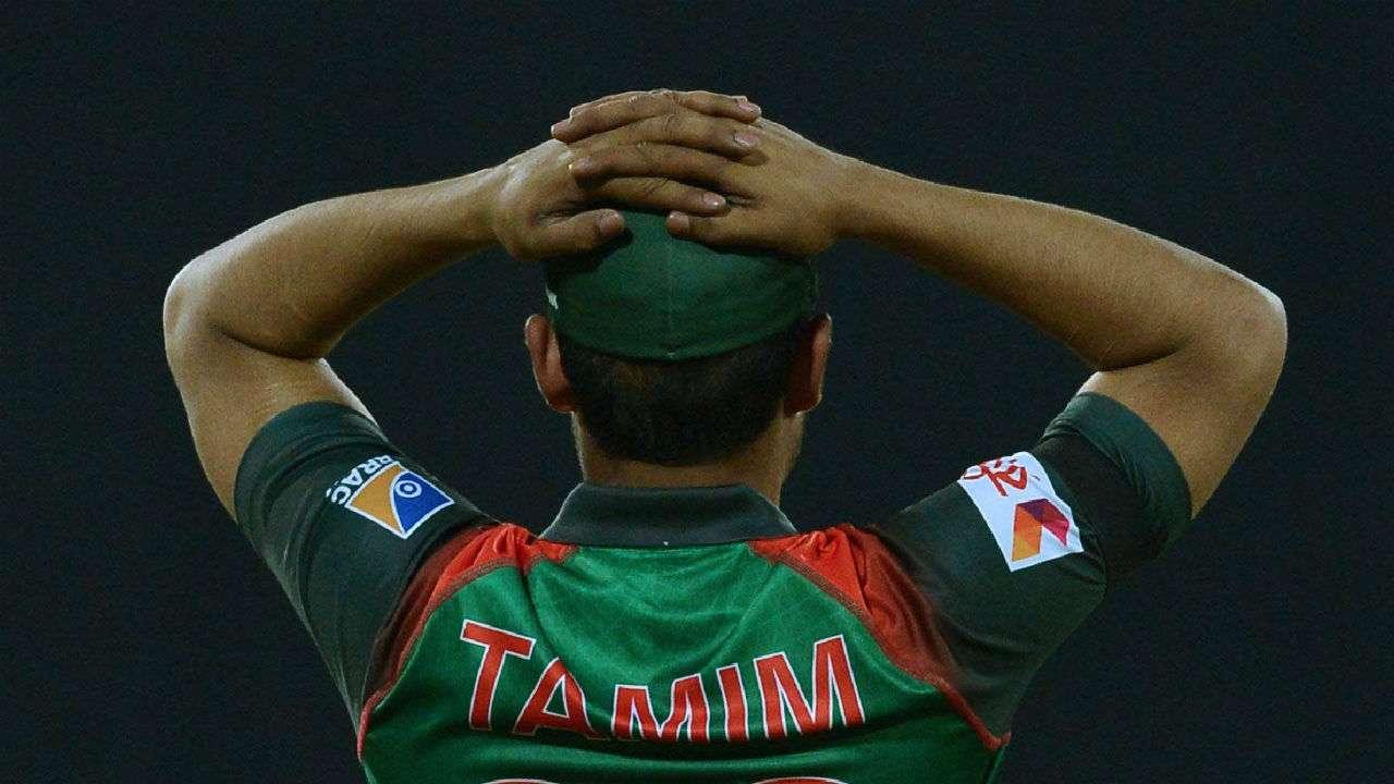 B'desh skipper Tamim Iqbal fined for breaching ICC Code of Conduct